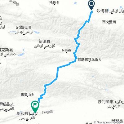 新疆217國道-獨庫公路