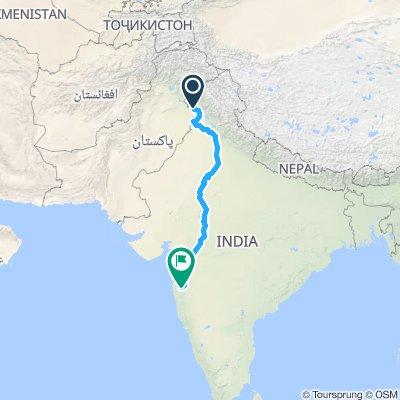 Jammu to Pune