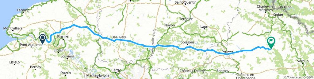 Reims aansl.groenevalleien