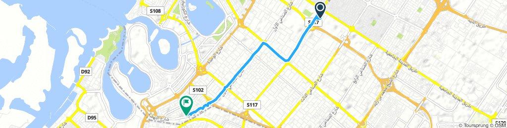 Short ride through Sharjah