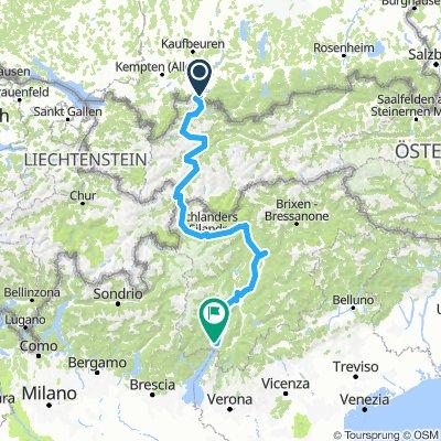 Füssen-Gardasee
