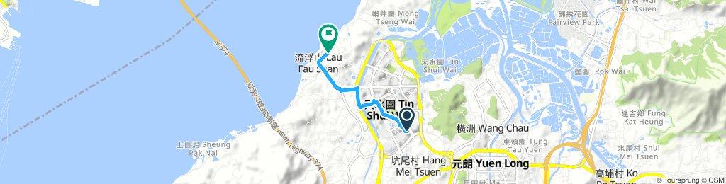 Moderate 星期五 Ride In 流浮山