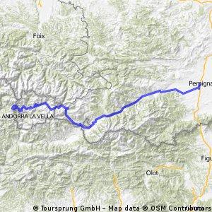 13 Perpignan-Andorre la Vieille