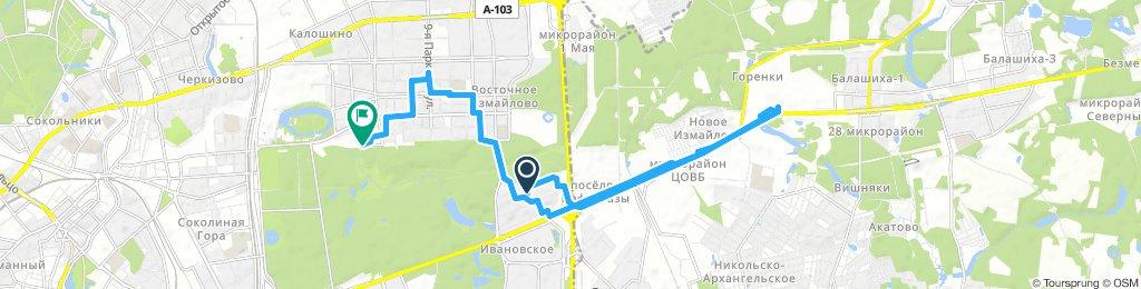 Деловые вело-ездки 30 ноября 2018 - часть 1