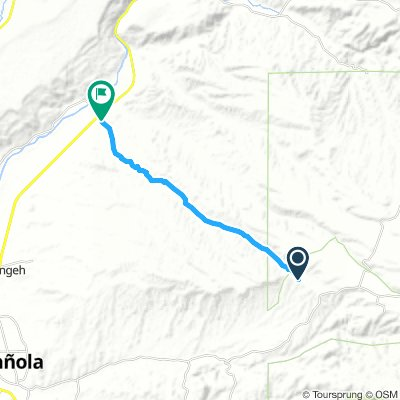 Cycling Routes And Bike Maps In And Around Chimayo Bikemap Your