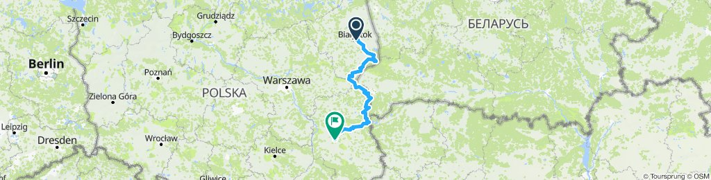 Białystok - Włodawa - Lublin