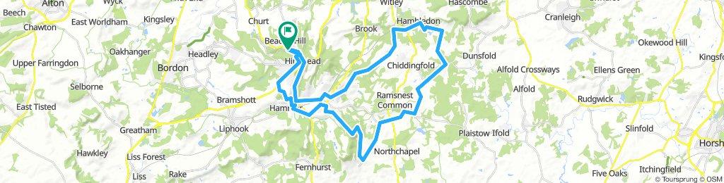 Hindhead - Hambledon circuit
