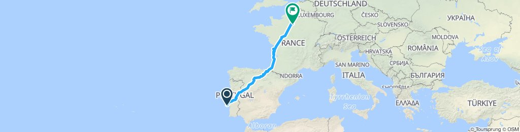 Lisbon to Paris (full)