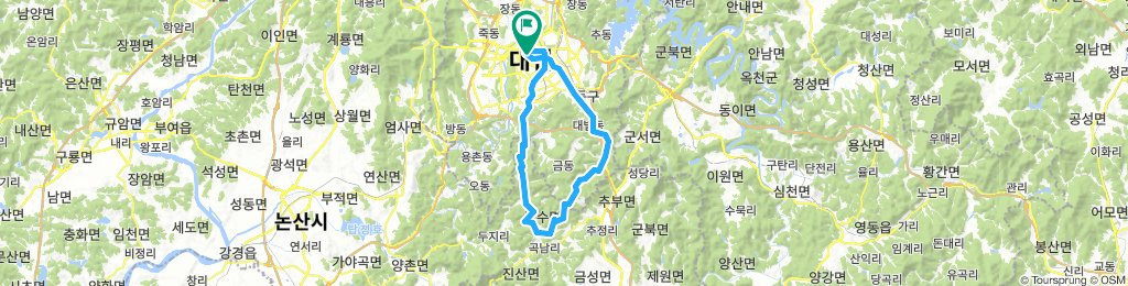 Daejeon forest