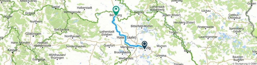 Leipzig Hbf - Bernburg