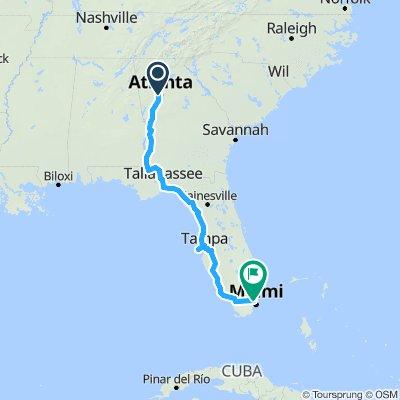 Atlanta to Miami