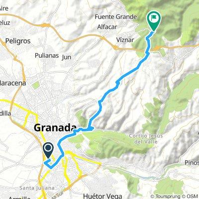 Salida de Granada a Centro de Visitantes de Puerto Lobo