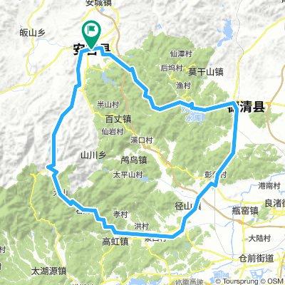 Anji-Tianhuangping-Lin'an-DeQing-Anji