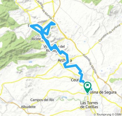 Ruta Gravel por Valle Ricote