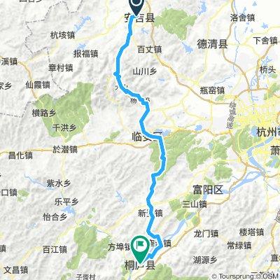 Anji-Tianhuangping-Lin'an-Tonglu