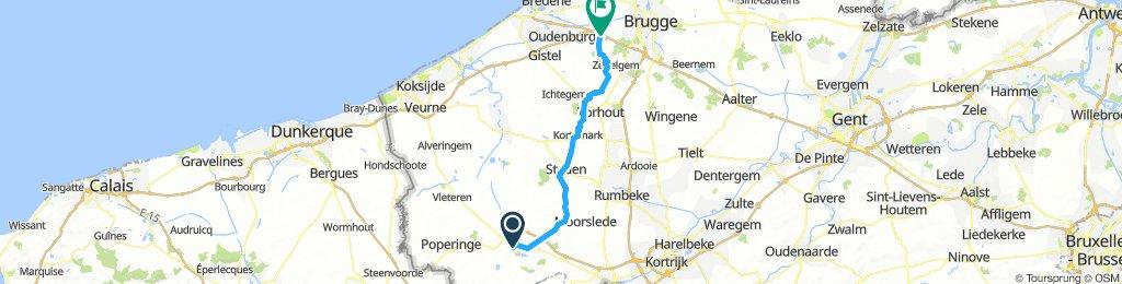CBF D3 Ypres - Jabbeke 52 km