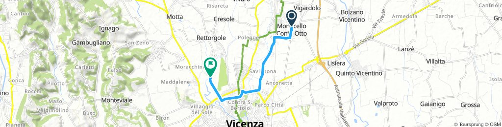 Moderate Morning Route In Vicenza