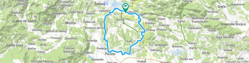 POT 19: Gora Oljka – Polzela – Jama Pekel – Bevče