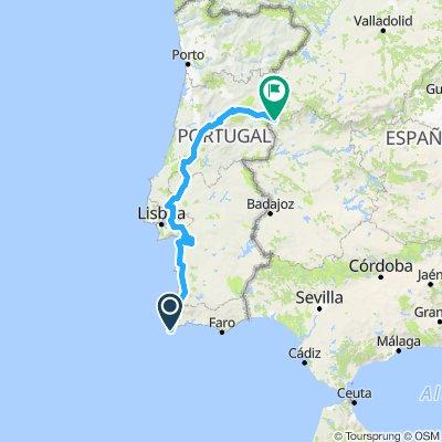 portugal finish