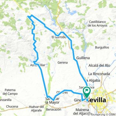 Castilleja-Castillo de las Guardas-Espartinas-Castilleja