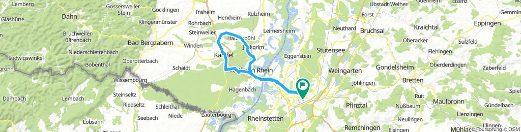 Pfalz und zurück