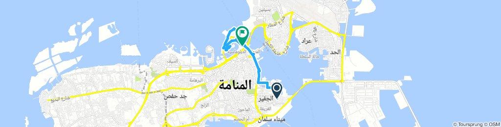 Spred Out Jeudi Route In Manama
