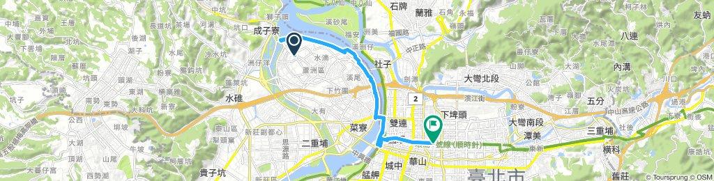 蘆洲站到松江南京站