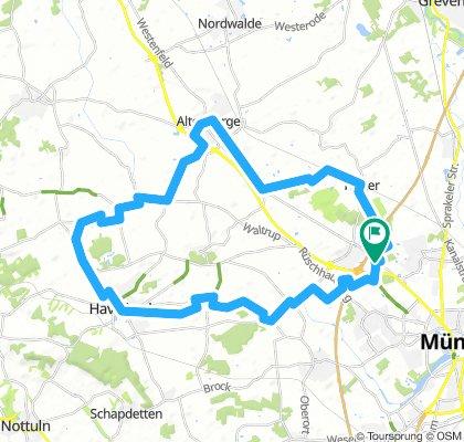 Finke-Havixbeck-Klute-Altenberge-Häger-Finke