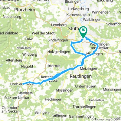 Germany: Neckartal Imperial Century route