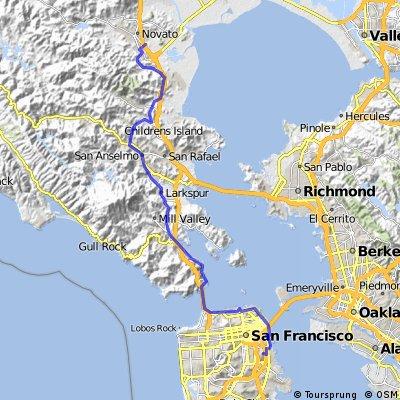 San Francisco to Moylan's