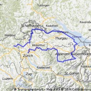 Tour de Suisse Tage 14 bis 16
