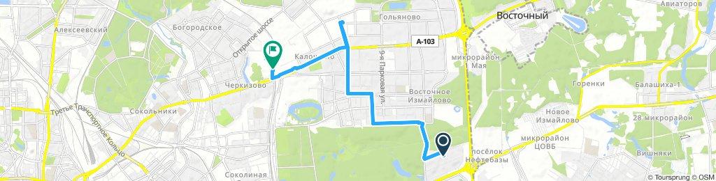 Утренние заборы документов из Москвы (Гольяново) 07 декабря 2018