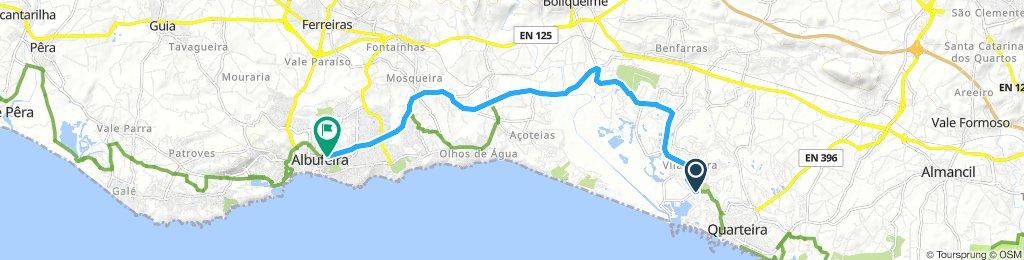 Vilamoura to Albufeira