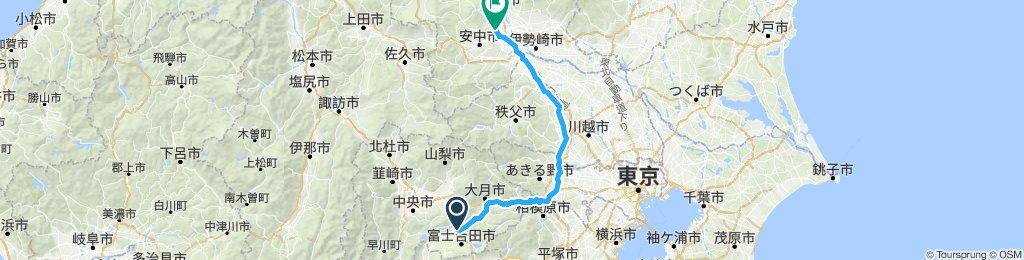 D13 to Maebashi