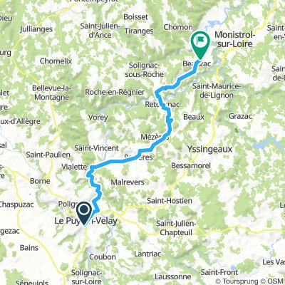 Le Puy en Velay - Beauzac