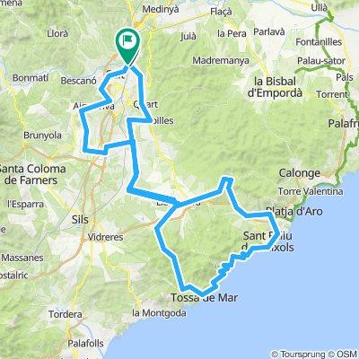 4: Girona - Costa Brava-Tossa