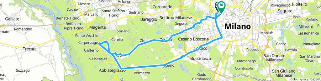 Milano-Albairate-Milano