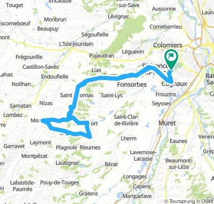 Half-Occitaman 2019 - Parcours Vélo
