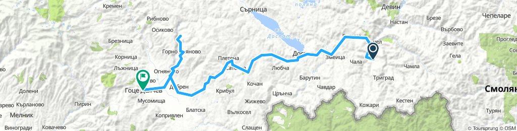 Ден 6.2 Ягодина - Лещен - Ковачевица - Гоце Делчев