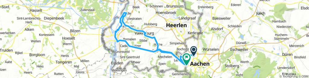 Aachen to Maastricht