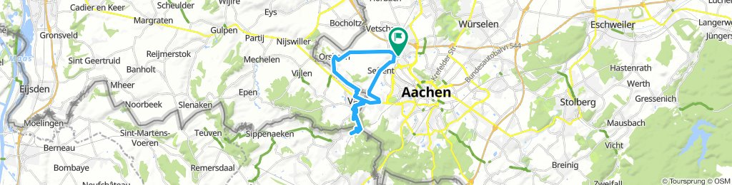 Aachen to 3 Countries point