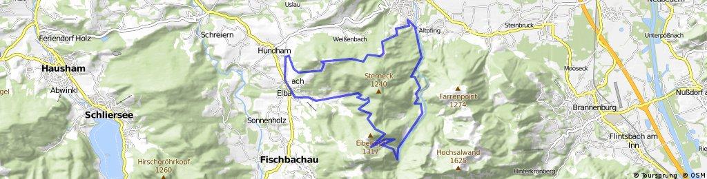 Von Bad Feilnbach zum Wendelstein und über die Tregleralm