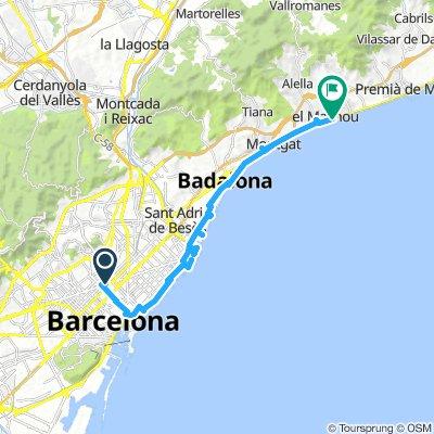 Barcelona-El Masnou