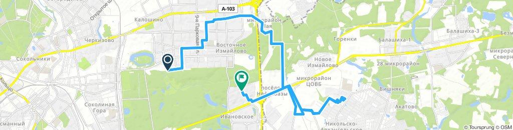 Велодоставки в Измайлово и Балашиху (мкрн Дзержинского) 11 декабря 2018