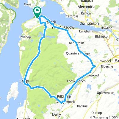 ESC 101: Greenock - Kilbirnie - Largs - Greenock