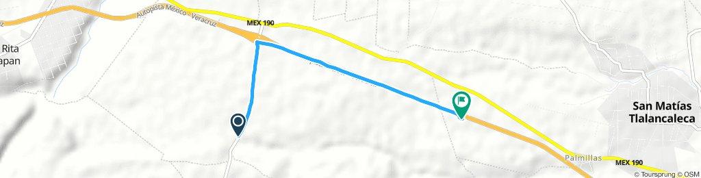 última ruta 3