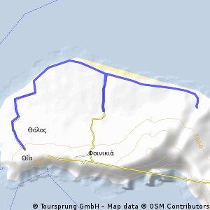 Oia Baxedes BeachRide (Asphalt Flat and Downhill)