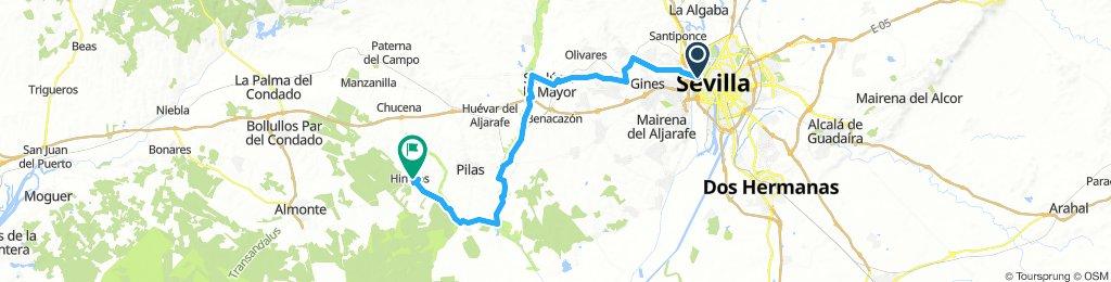 Sevilla - Sanlúcar - Villamanrique -Hinojos