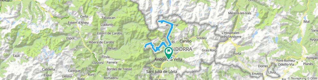 4ª etapa: Ordino Arcalis +  Port Cabús