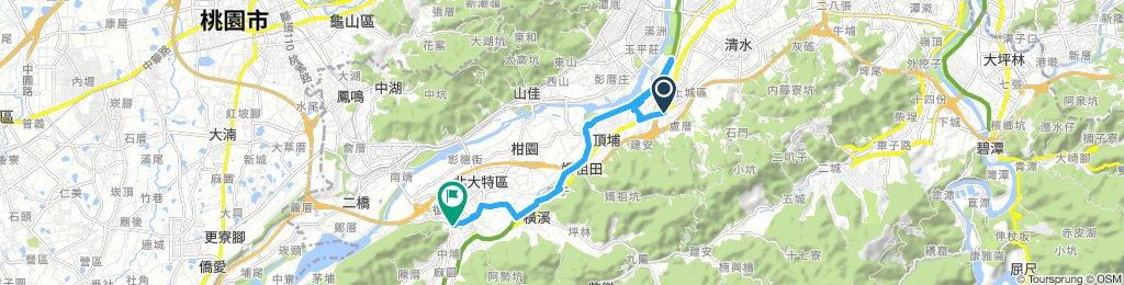 永寧捷運站 to 三峽老街(UBIKE)
